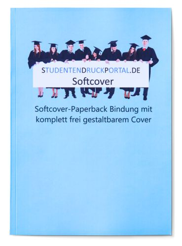 Softcover Magazin Klebebindung Softcover Klebebindung  individuelles Cover